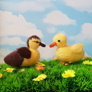free ducklings knitting pattern