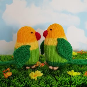 lovebirds knitting pattern