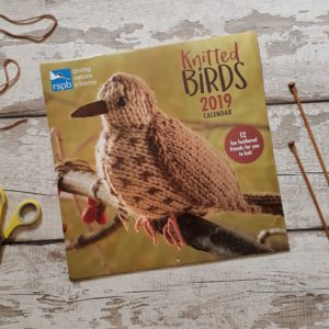 Knitted Birds calendar 2019